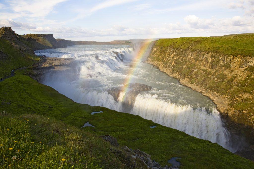 Iceland Gulfoss Falls