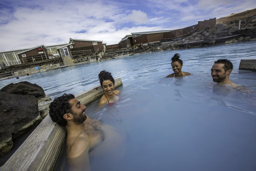 Iceland Myvatn Thermal Bath Lagoon Travellers