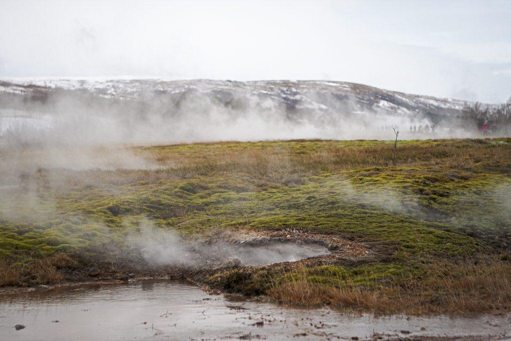 Iceland Pingvellir National Park Geysir Hot Spring