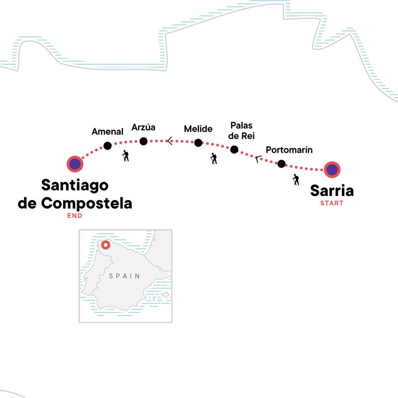 Wellness – Spain Camino de Santigo